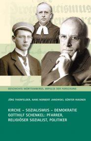 """Umschlag des Titels """"Kirche – Sozialismus – Demokratie"""""""