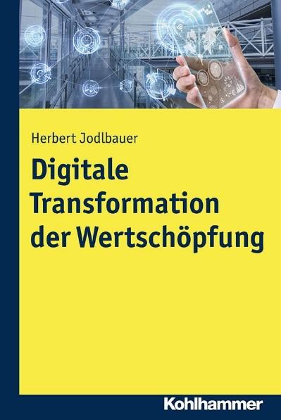 Buchcover Digitale Transformation der Wertschöpfung