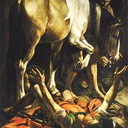 Caravaggio_Bekehrung_Paulus