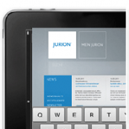 Jurion Datenbank Tablet