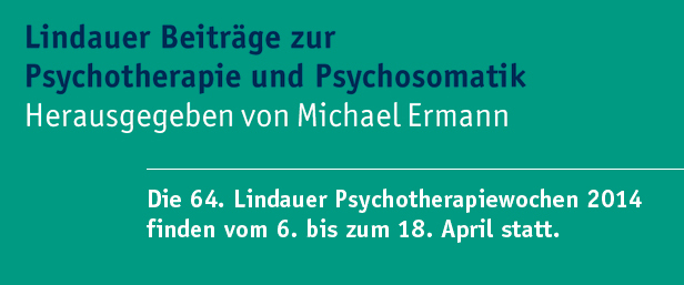 Lindauer Beiträge zur Psychotherapie und Psychosomatik | Kohlhammer