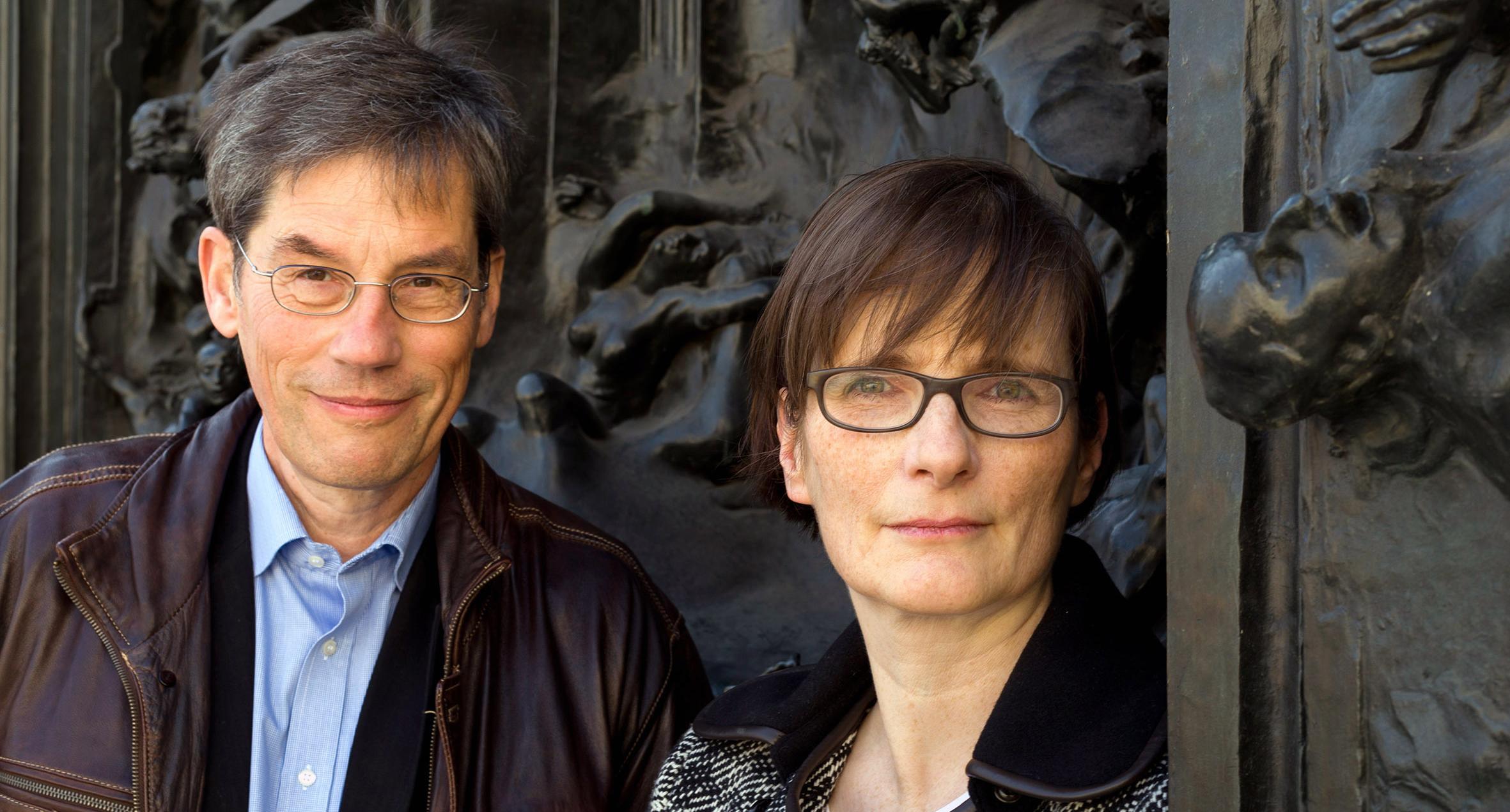 Beat Naef und Silke-Petra Bergjan