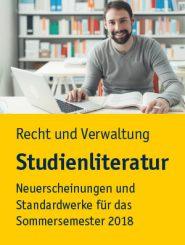 Studienliteratur – Recht und Verwaltung für das Jurastudium