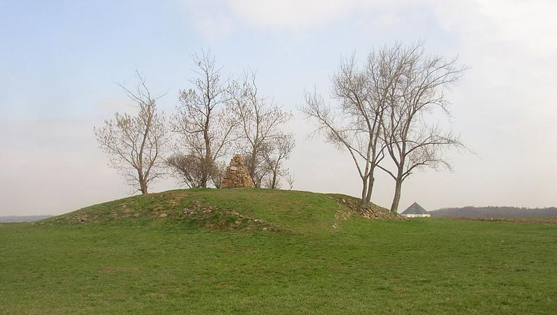 Die Kuppe des Weißen Berges, wo am 8. November 1620 die bayerischen und kaiserlichen Armeen dem protestantischen Ständeheer unter Christians Leitung eine vernichtende Niederlage beibrachten.