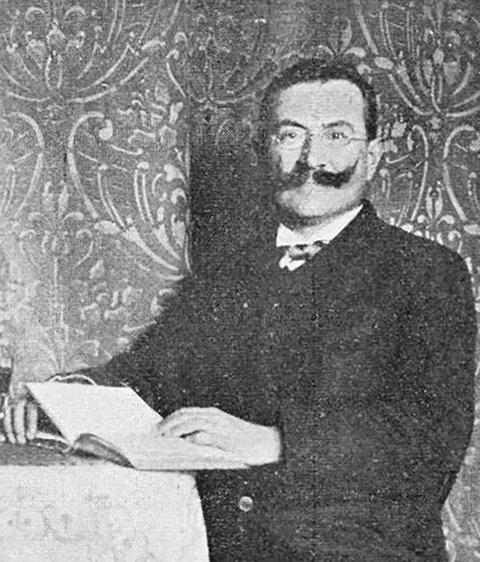 Der Mannheimer Aktivist August Fleischmann (Quelle: Fleischmann, August (1902)
