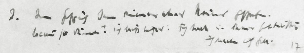 7. Punkt aus Bonhoeffers Notizen vom Juli 1944